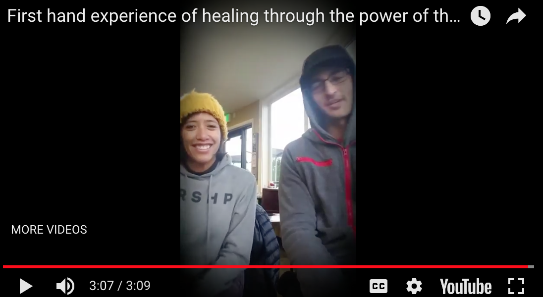 Brandi Shigley & Jason Levy talk about the power of the Holy Spirit
